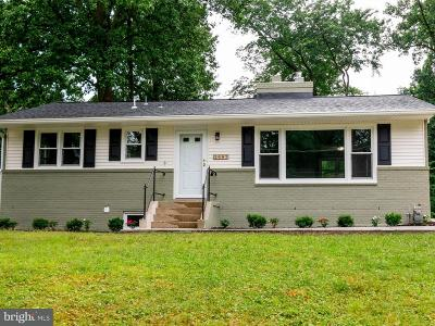 Silver Spring, Wheaton Single Family Home For Sale: 2602 Jennings Road