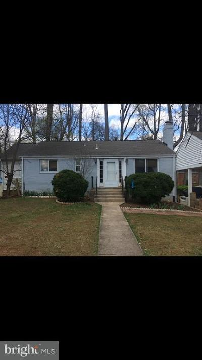 Falls Church Single Family Home For Sale: 7304 Arthur Drive