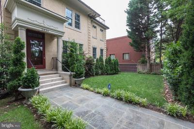 Washington Single Family Home For Sale: 2835 Wisconsin Avenue NW