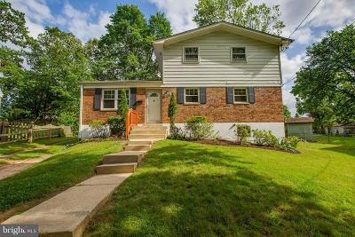 Silver Spring Single Family Home For Sale: 10813 Tenbrook Court