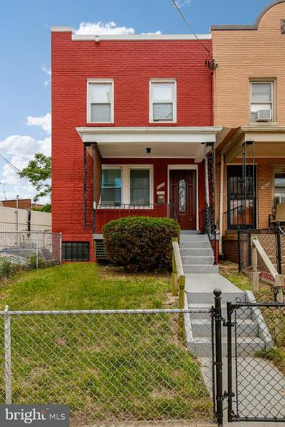 Washington Townhouse For Sale: 2531 Benning Road NE