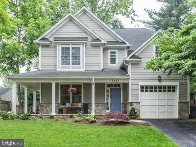 Bethesda Single Family Home For Sale: 5404 Harwood Road