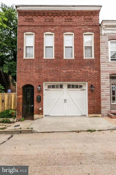 Fells Point Townhouse For Sale: 310 S. Durham Street