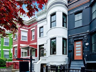 Townhouse For Sale: 40 U St NW