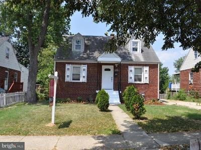 Hyattsville Single Family Home Under Contract: 5812 31st Avenue
