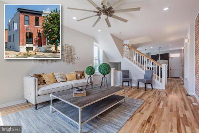 Baltimore Townhouse For Sale: 35 Ellwood Avenue N