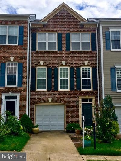 Alexandria Townhouse For Sale: 6393 Hawk View Lane