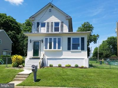 Willow Grove Single Family Home For Sale: 1622 Park Avenue