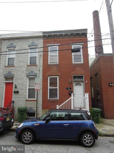 Baltimore Townhouse For Sale: 1230 Wall Street