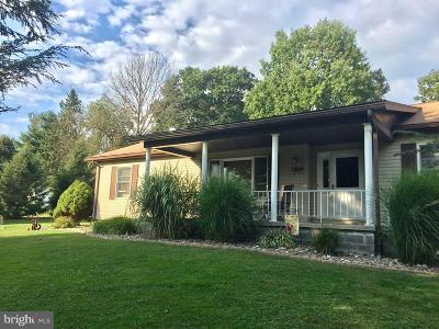 Frostburg Single Family Home For Sale: 11720 Coleman Road