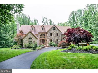 Chadds Ford PA Single Family Home For Sale: $1,290,000