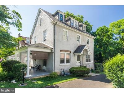 Jenkintown Single Family Home For Sale: 137 Township Line Road