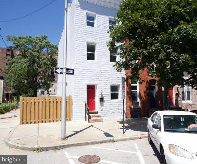 Baltimore Single Family Home For Sale: 202 Chester Street N