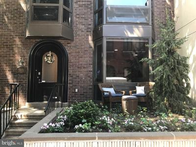 Rittenhouse Square Townhouse For Sale: 2021 Chancellor Street