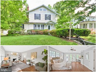 Chevy Chase Single Family Home For Sale: 3917 Underwood Street