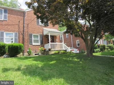 Ardmore Single Family Home Under Contract: 2729 Saint Marys Road