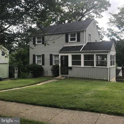 Prince Georges County Single Family Home For Sale: 2408 Lake Avenue