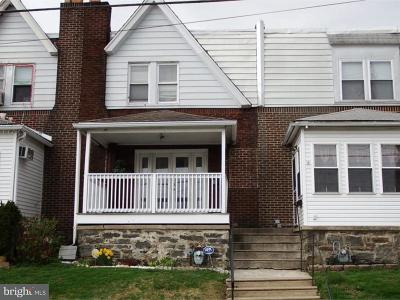 Sharon Hill PA Townhouse For Sale: $79,900