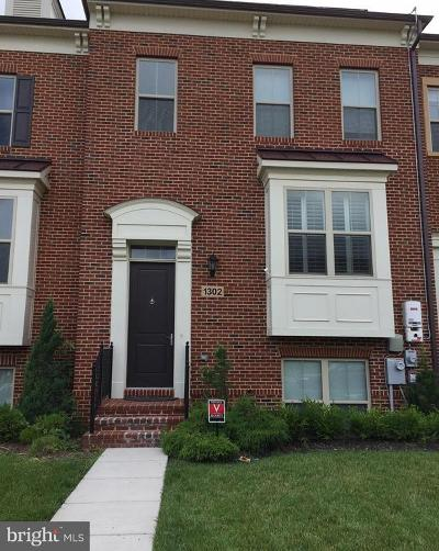 Montgomery County Townhouse For Sale: 1302 Autumn Brook Avenue