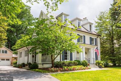 Bethesda MD Single Family Home For Sale: $2,795,000