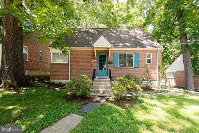 Takoma Park Single Family Home For Sale: 8216 Roanoke Avenue