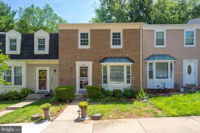 Burke Townhouse For Sale: 10351 Pond Spice Terrace