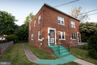 Capitol Heights Single Family Home For Sale: 1255 Booker Terrace