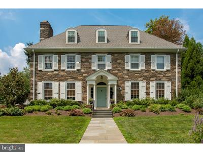 Merion Station Single Family Home For Sale: 367 Brookway Road