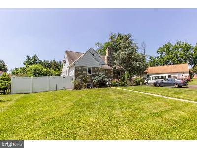 Hatboro Single Family Home For Sale: 2 Armour Road