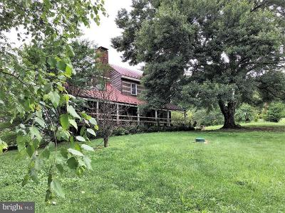 Rappahannock County Single Family Home For Sale: 118 Viewtown Road