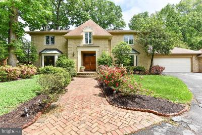Rockville Single Family Home For Sale: 10524 Democracy Boulevard