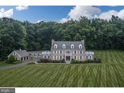 Bucks County Single Family Home For Sale: 2287 Aquetong Road