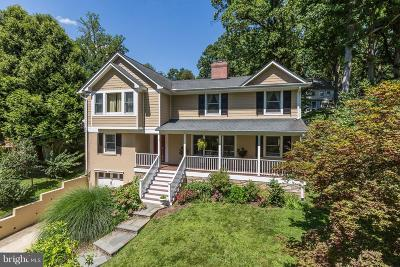 Chevy Chase Single Family Home For Sale: 7125 Greenvale Parkway W