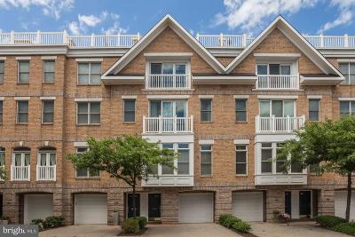 Baltimore City Townhouse For Sale: 1224 Harbor Island Walk
