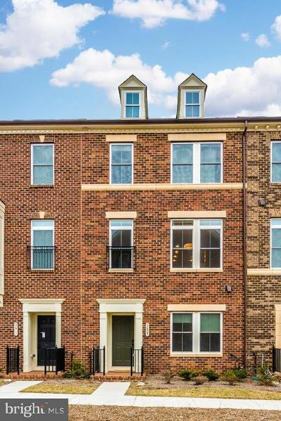 Frederick Townhouse For Sale: 3609 Katherine Way