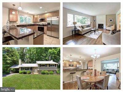 Annandale Single Family Home Active Under Contract: 8518 Chapel Drive