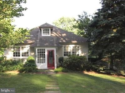 Jenkintown Single Family Home For Sale: 1771 Sharpless Road