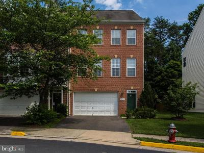Centreville Townhouse For Sale: 13982 Sawteeth Way