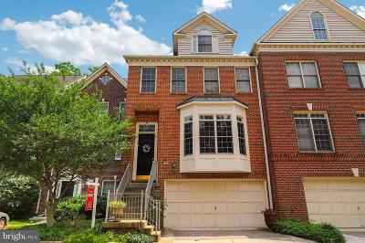 Falls Church Townhouse For Sale: 145 Rees Place