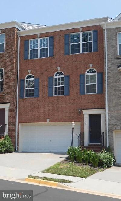 Leesburg Townhouse For Sale: 340 Caldwell Terrace SE