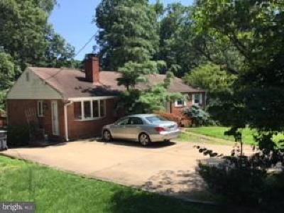 Fairfax County, Fairfax City Single Family Home Active Under Contract: 3117 Valley Lane