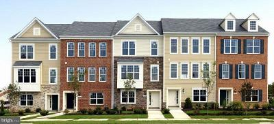 Lanham Townhouse For Sale: 9813 Wood Edge Way