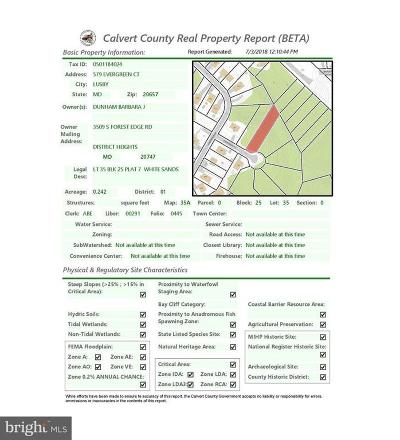 Residential Lots & Land For Sale: 579 Evergreen Court