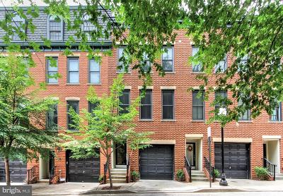 Fells Poi Nt, Fells Point, Fells Point/Hopkins, Fells Pt./Hopkins Townhouse For Sale: 16 Regester Street S