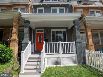 Petworth Townhouse For Sale: 727 Madison Street NW