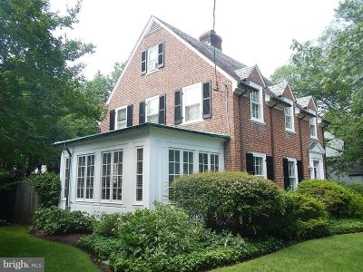 Chevy Chase Single Family Home For Sale: 3920 Oliver Street