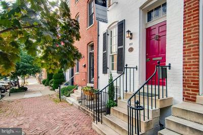 Baltimore Townhouse For Sale: 110 Montgomery Street E