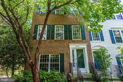 Centreville Townhouse For Sale: 6026 Anne Marie Terrace
