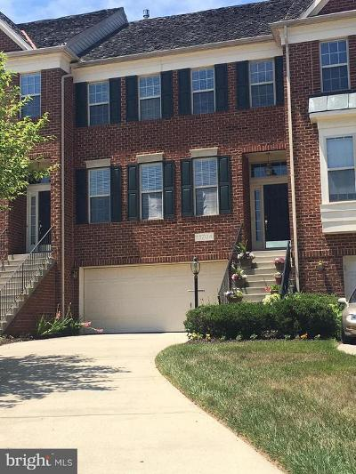 Bowie Townhouse For Sale: 11704 Brookeville Landing Court