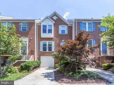 Vienna Townhouse For Sale: 8120 Madrillon Springs Lane
